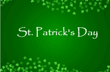 St Patrick's Day - The Kid On The Go