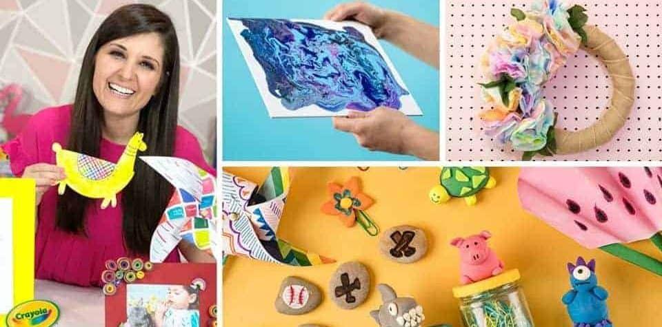 Get Crafty With Lynn Lilly and Crayola