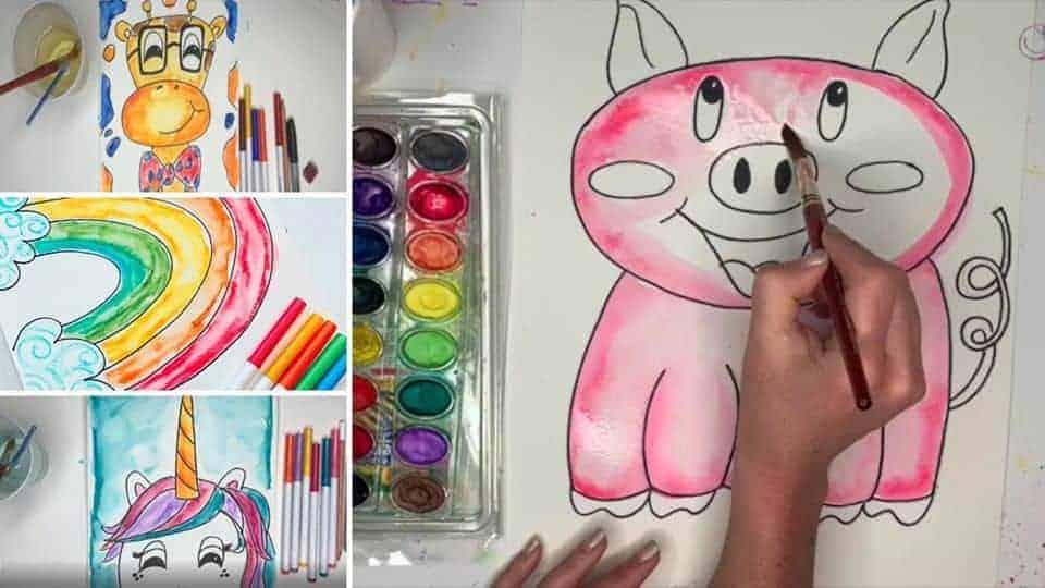 Crayola - Doodle Along with Pzazz Art Studio