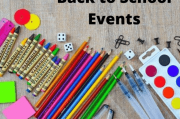 Back to School Events - Facebook Post