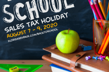 Back To School Tax Holiday - 2000