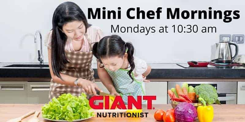 Giant Food Stores - Mini Chef Mornings