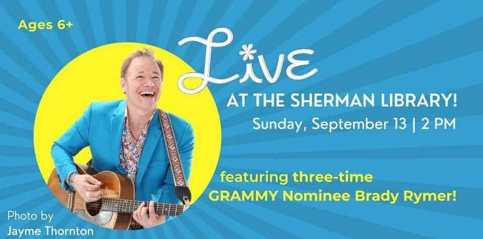 Live at the Sherman with Brady Rymer