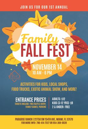 Paradise Ranch - Family Fall Fest