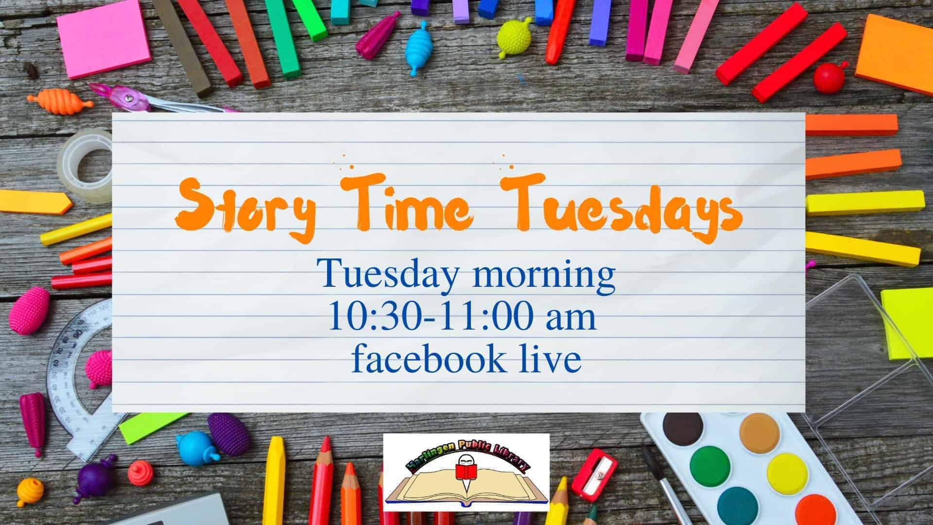 Harlingen - Storytime Tuesdays