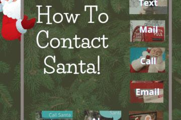 How To Contact Santa - Blog Post