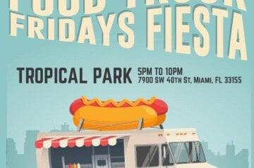 Food Truck Fridays at Fiesta Tropical Park2