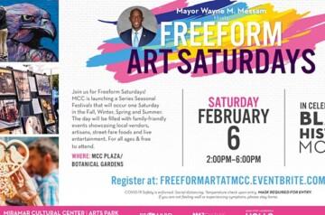 Miramar Cultural Center - Freeform Arts Saturday