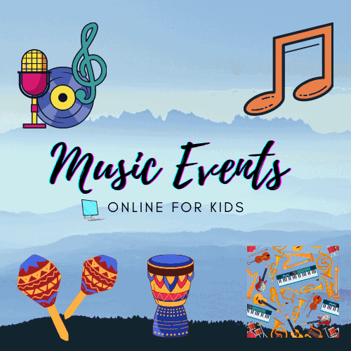 Music Events Online for Kids