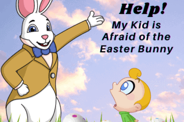 Afraid of Easter Bunny