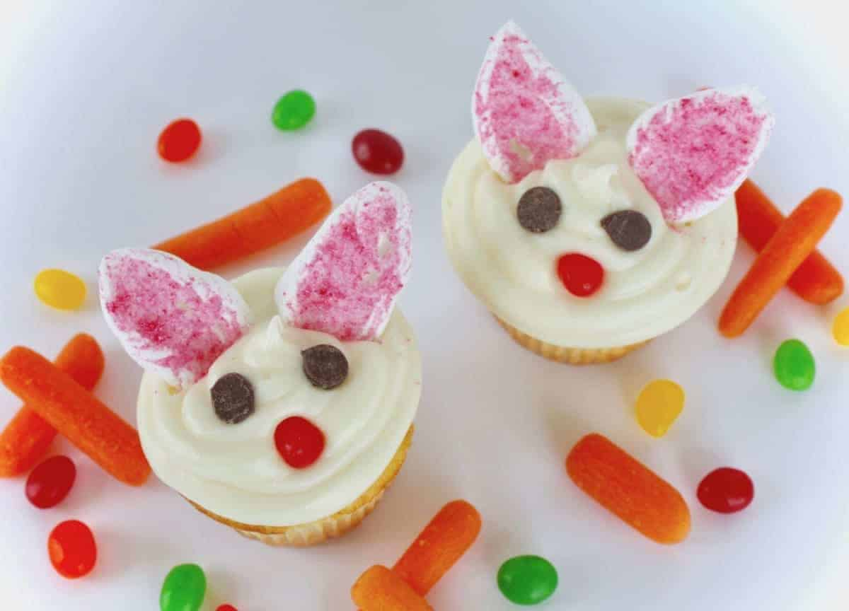 Tastebuds Kitchen - Easter Bunny Cupcakes