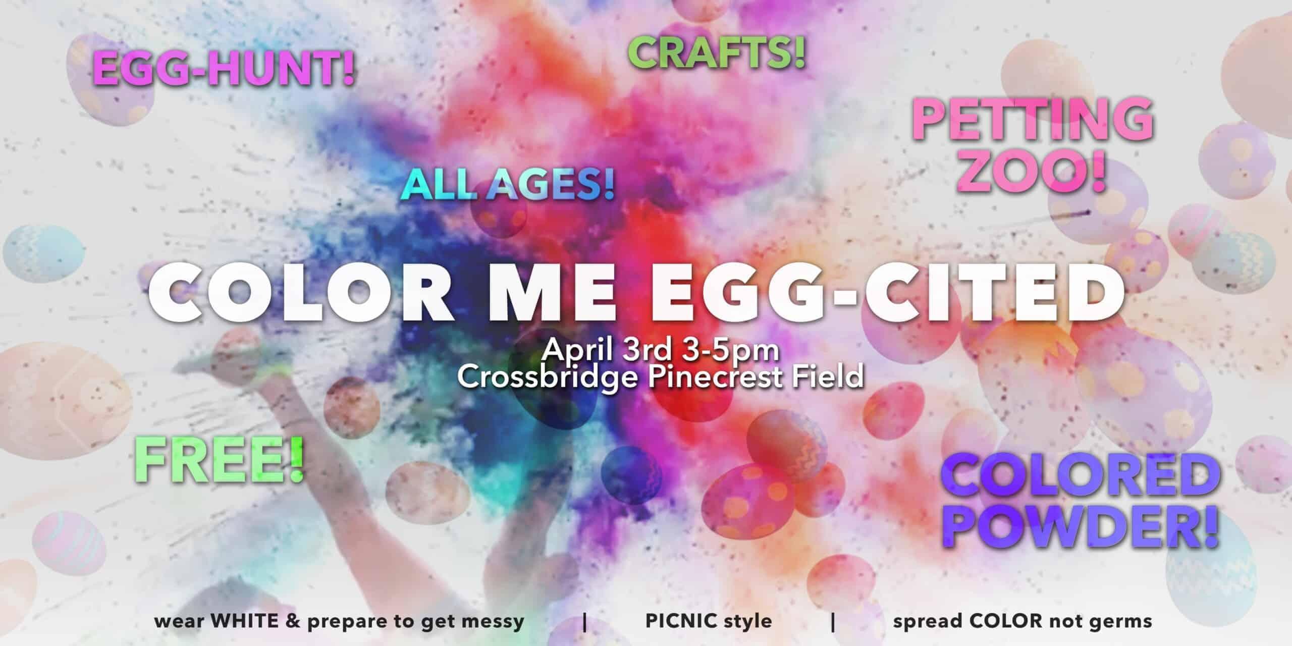 Color Me EGG-Cited