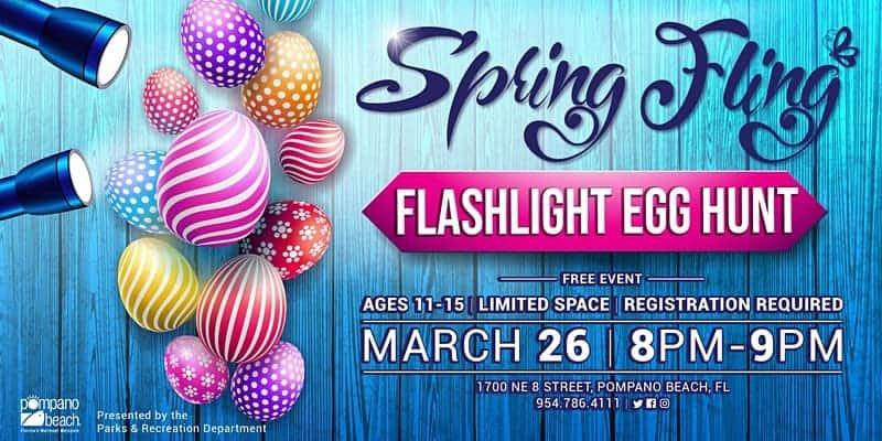 City of Pompano Beach - Flashlight Egg Hunt