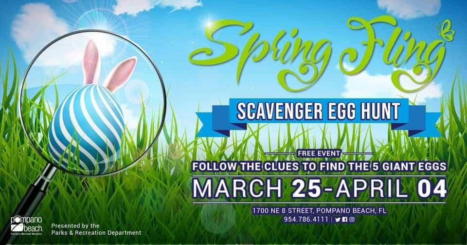 City of Pompano Beach - Spring Fling Scavenger Hunt