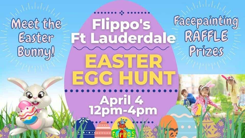 Flippos Fort Lauderdale - Easter Egg Hunt