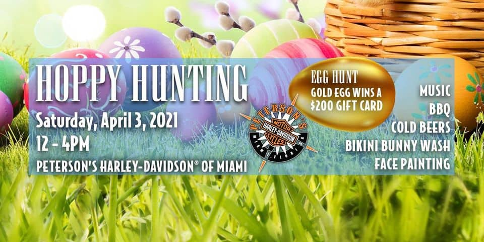 Harley Davidson Miami - Easter 2021
