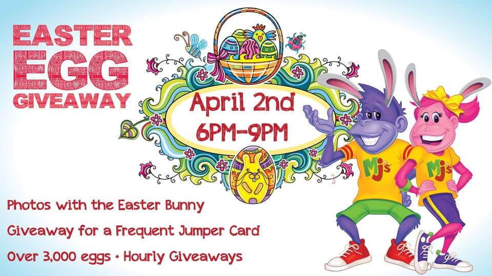 Monkey Joes - Coral Springs - Easter Give Away - 2021