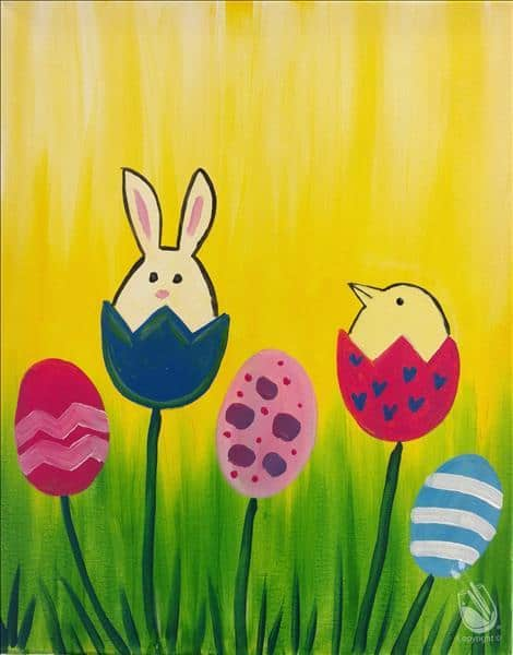 Painting With A Twist - Easter - Coral Gables