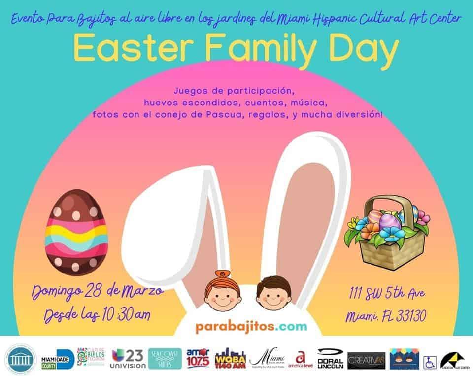 Para Bajitos Family Day Easter