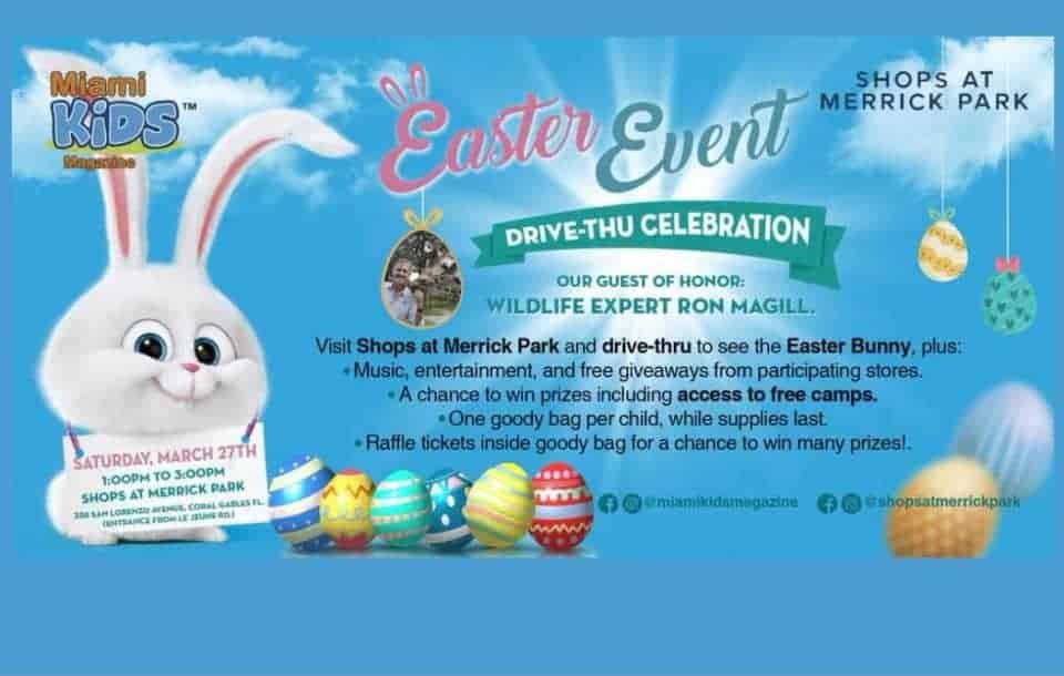 Shops At Merrick Park - Easter Event Drive-Thru Celebration