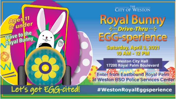 Weston - Royal Bunny Egg-sperience