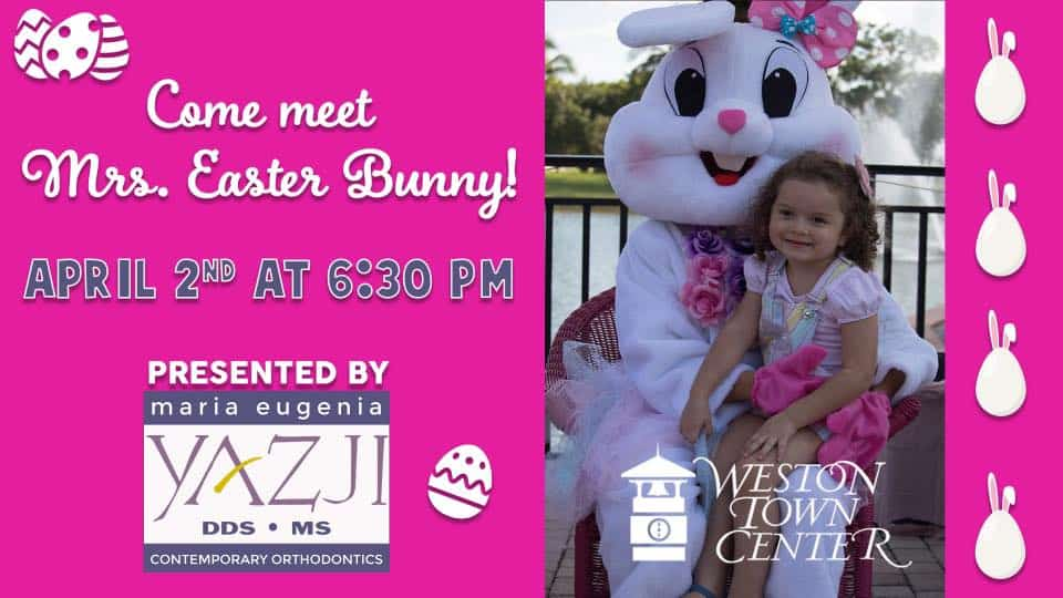 Weston Town Center - Mrs Easter Bunny
