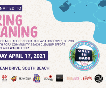 Spring Cleaning - Miami Beach Clean Up Event
