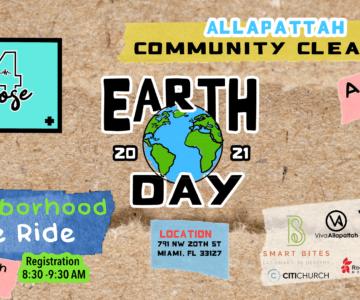 Earth Day 2021 Community Clean Up & Neighborhood Bike Ride