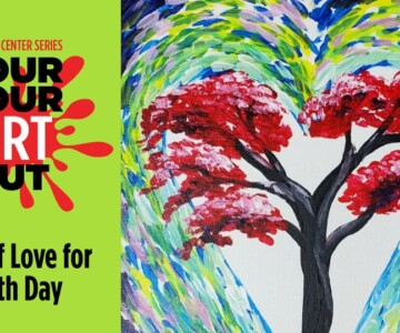 Adrienne Arsht - Pour Your Art - Earth Day