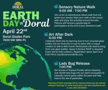 City of Doral - Earth Day in Doral