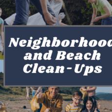 Neighborhood and Beach Clean-Up