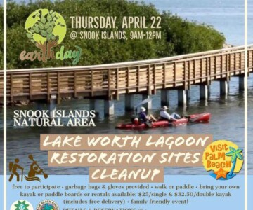 Palm Beach Parks and Recreation - Earth Day Cleanup