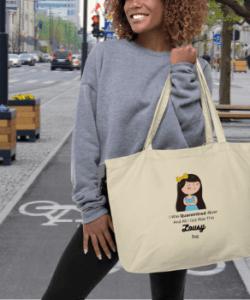 Quarantine - 100% Organic Tote Bag