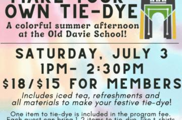 Old Davie Museum - Tie-Dye
