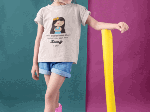 Quarantined 4Ever - Kids - Medium Fit - Eco Tee - Candy Pink