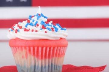 Tastebuds Kitchen - Labor Day Cupcakes