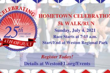 Weston - 4th of July 4k Race
