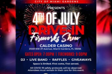 City of Miami Gardens - 4th of July Fireworks