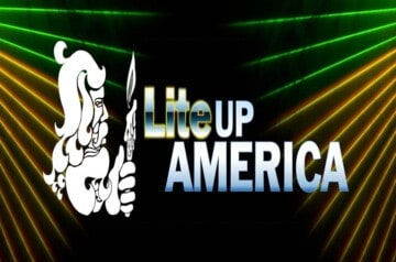Lite Up America - Drive-In Laser Show