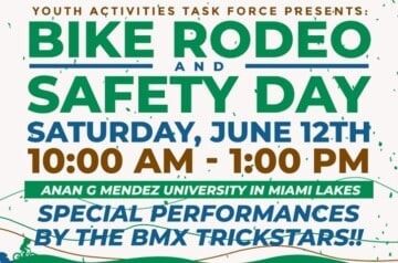 Miami Lakes - Bike Rodeo and Safety Day
