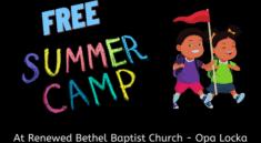 Renewed Minds Summer Camp-