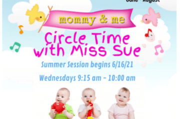 Temple Beth Emet - circle time with miss sue