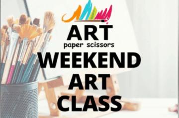 Art Paper Scissors - Weekend Art Class