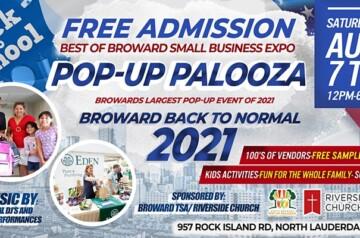 Broward TSA - Riverside Church - Back To School Pop-Up Palooza