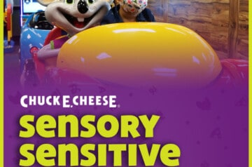 Chuck E Cheese - Sensory Sensitive Saturdays
