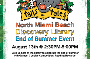 City of North Miami Beach - Library Summer Back To School Event