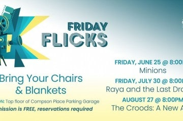 Compson Place at Renaissance Commons - Friday Flicks