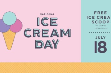 Downtown Palm Beach Gardens - National Ice Cream Day 2021