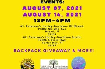 Harley Davidson Miami - Backpack Event