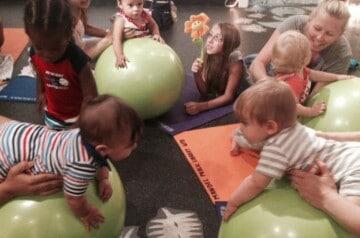 Mandel Public Library - Itsy Bitsy Yoga - Noncrawling Babies